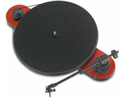 Pro-Ject Elemental analóg lemezjátszó Ortofon OM-5e piros