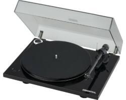 Pro-Ject Essential III RecordMaster lemezjátszó + OM-10 hangszedő, fényes fekete