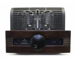 Synthesis Roma 96DC integrált, csöves erősítő, magasfényű sötétbarna