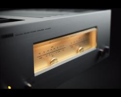 Yamaha M-5000 sztereó végerősítő, zongoralakk ezüst