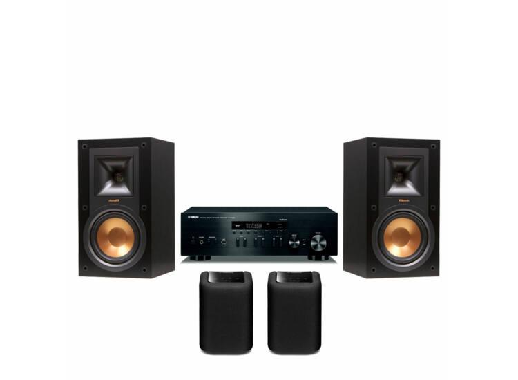 Yamaha R-N402D + Klipsch R-15M + 2db Yamaha WX-010 MusicCast zóna hangszóró