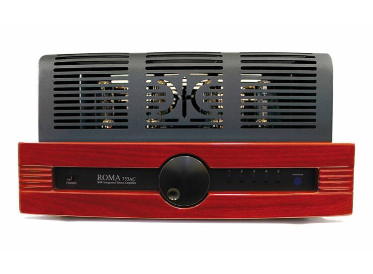 Synthesis Roma 753AC integrált, csöves erősítő magasfényű mahagóni