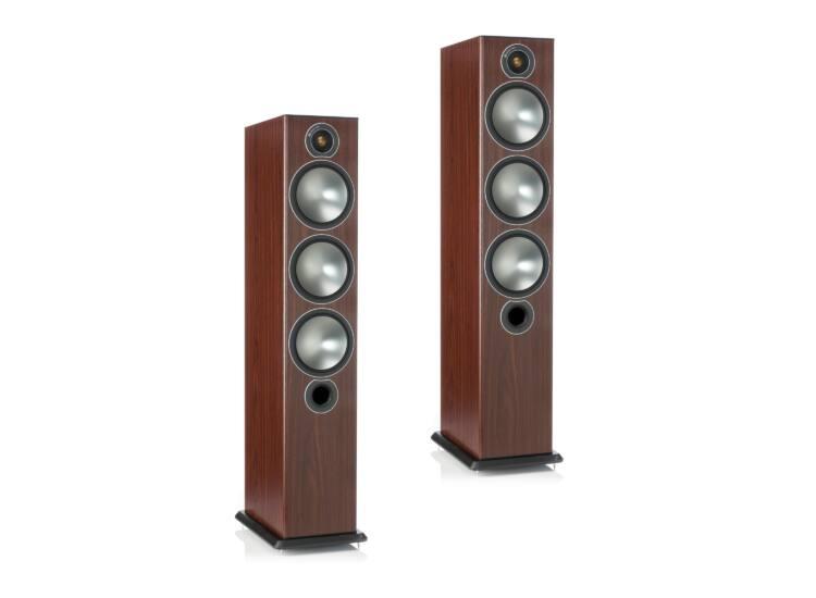 Monitor Audio Bronze 6 frontsugárzó pár, rózsafa