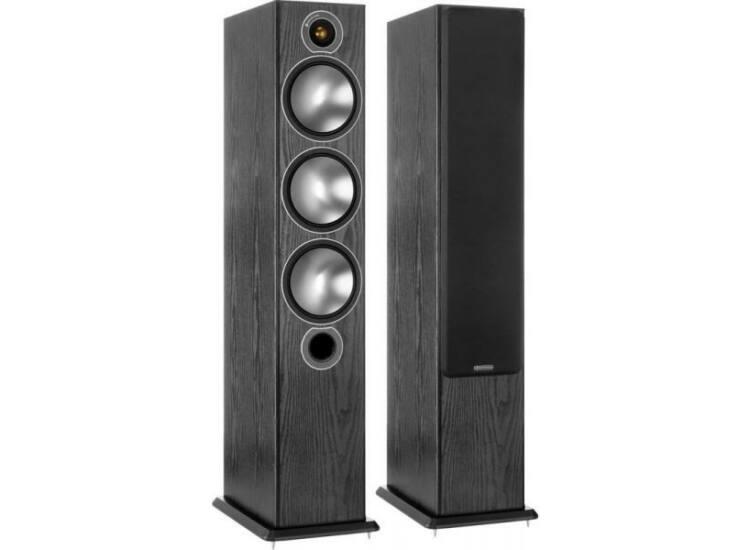 Monitor Audio Bronze 6 hangfal pár, fekete