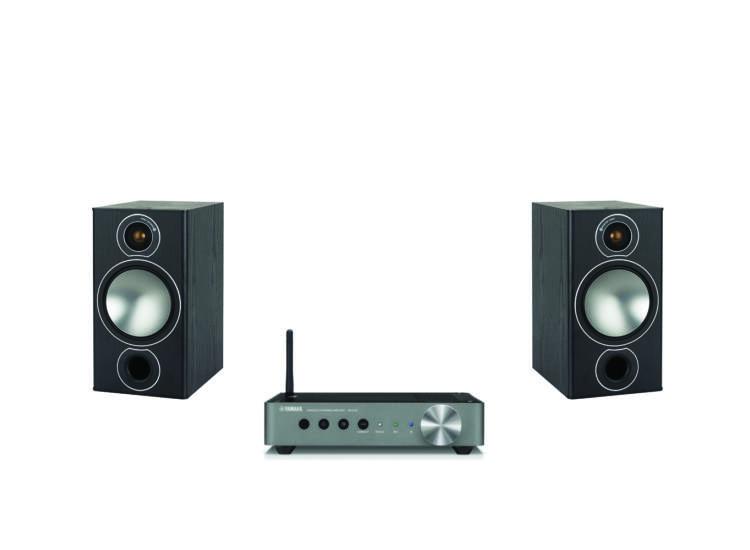 Monitor Audio Bronze 2 + Yamaha WXA-50 sztereó szett fekete