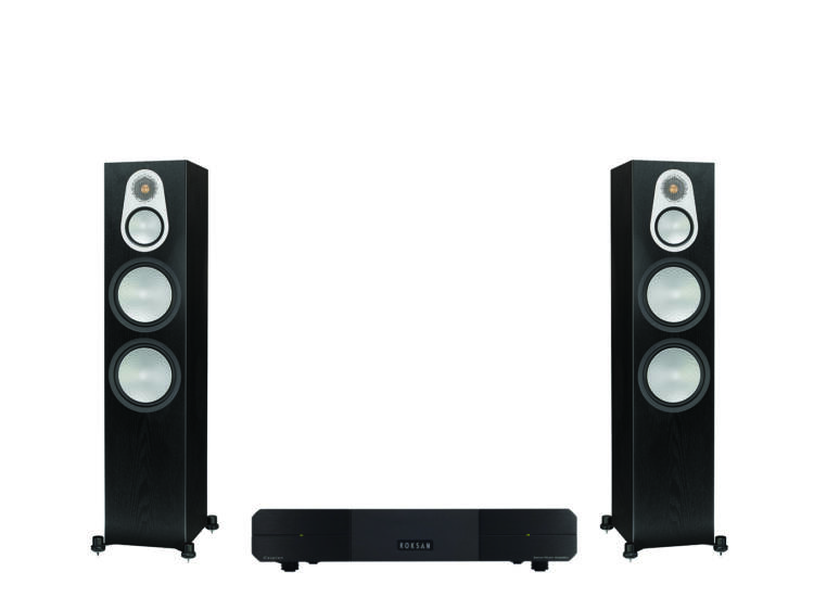 Monitor Audio Silver 500 + Roksan Caspian Power AMP, sztereó szett