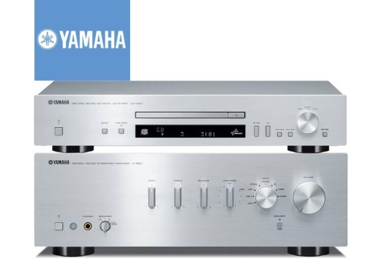 Yamaha A-S501 + CD-S300 Sztereó szett, ezüst