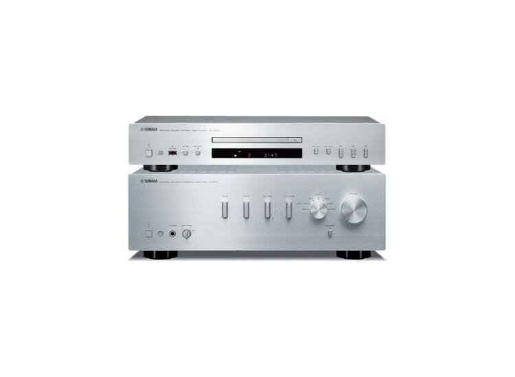 Yamaha A-S301+CD-S300 Sztereó szett ezüst