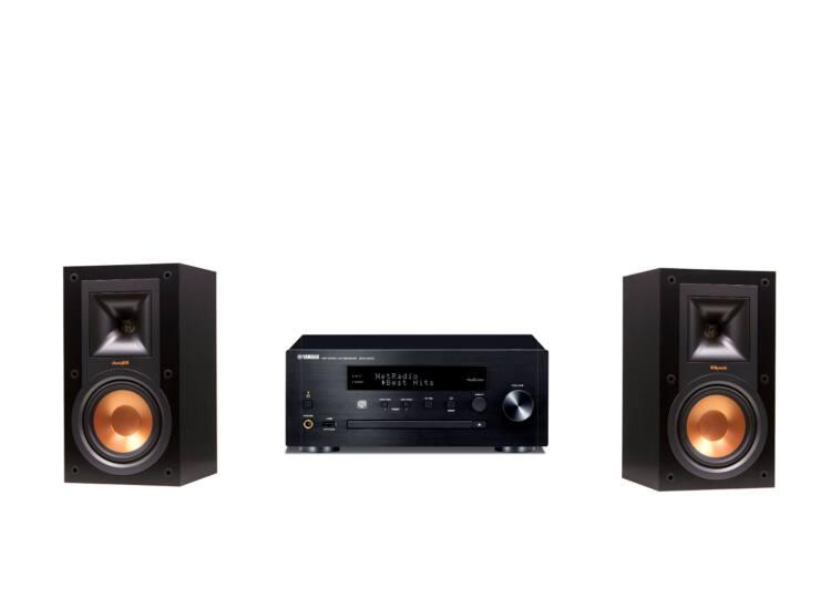 Yamaha CRX-N470 + Klipsch R-15M Mikro Hi-Fi rendszer