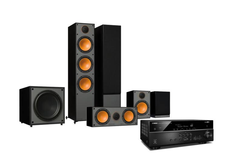 Monitor Audio Monitor 300 + Yamaha RX-V585 5.1 házimoziszett
