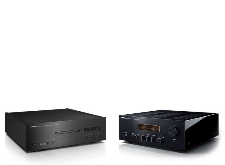 Yamaha A-S1100 Sztereó erősítő + Yamaha CD-S1000
